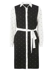 Dorothy Perkins Arrow Print Shirt Dress