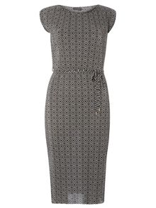 Dorothy Perkins Pleated Midi Dress
