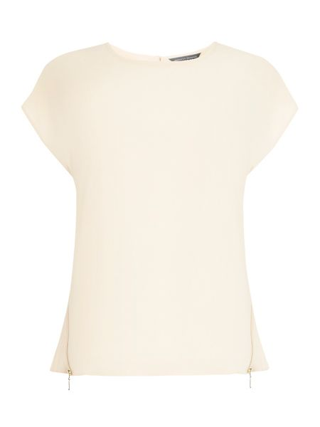 Dorothy Perkins Zip Side T-Shirt