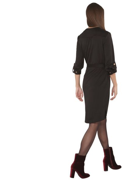 Dorothy Perkins Tall Ponte Shirt Dress