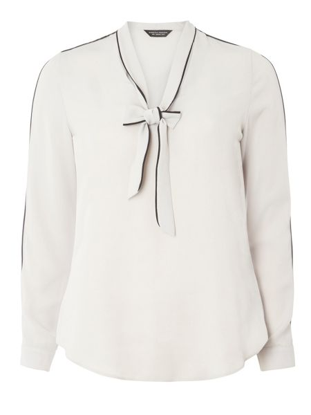 Dorothy Perkins Pussybow Long Sleeve Blouse