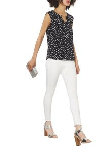 Dorothy Perkins Billie and Blossom Spot Shell Top