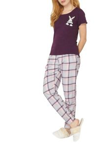 Dorothy Perkins Bunny Pocket PJ Set