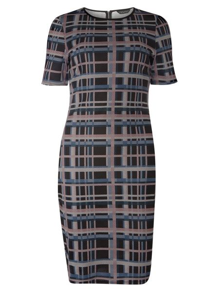 Dorothy Perkins Check Print Bodycon Dress