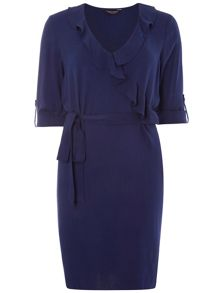 Dorothy Perkins Ruffle Wrap Shift Dress