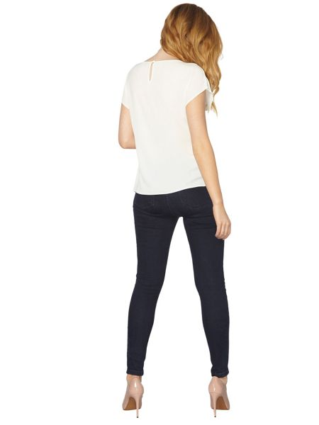 Dorothy Perkins Zip Side Tee