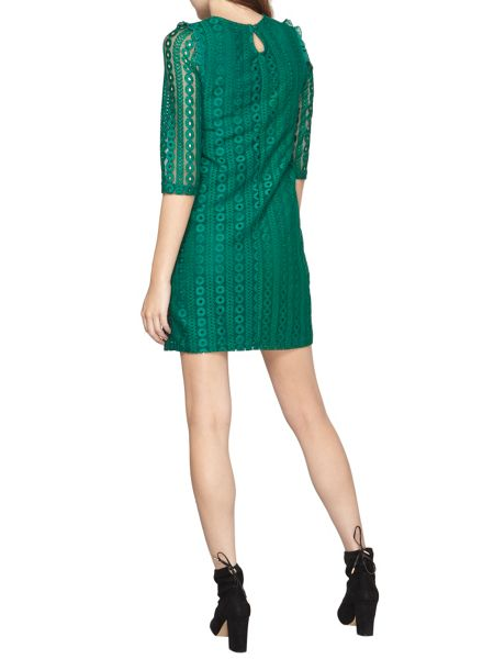 Dorothy Perkins Long Sleeved Geo Shift Dress