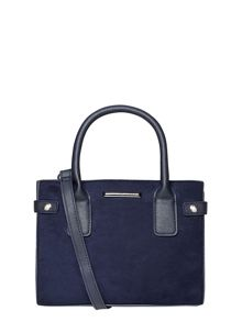Dorothy Perkins Faux Suede Mini Tab Tote Bag