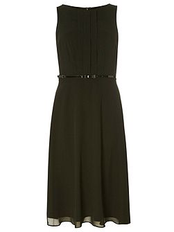 Billie and Blossom Chiffon Midi Dress