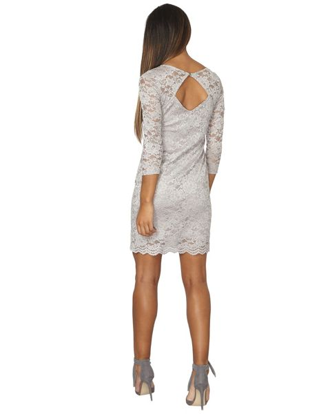 Dorothy Perkins Billie Black Label Lace A-Line Dress