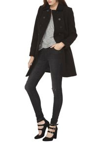 Dorothy Perkins DB Swing Coat