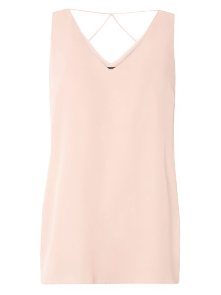 Dorothy Perkins Cut Out Shell Top