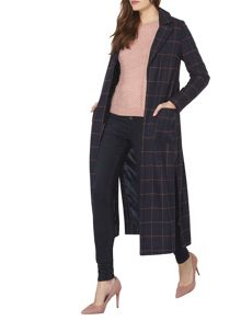 Dorothy Perkins Checked Maxi Coat