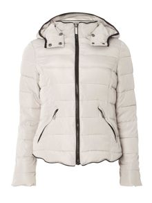 Dorothy Perkins Short Tip Padded Coat