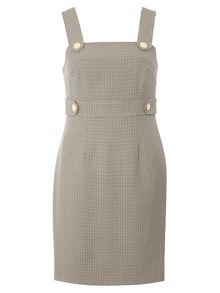 Dorothy Perkins Check Pinny Dress