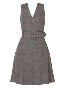 Dorothy Perkins Check Skater Dress
