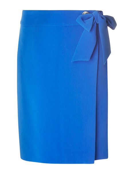 Dorothy Perkins Tall Tie Front Skirt