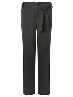 Black PJ Style Palazzo Trousers