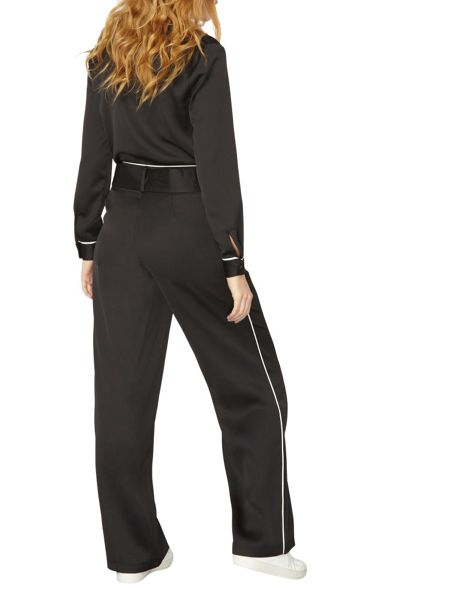 Dorothy Perkins Black PJ Style Palazzo Trousers