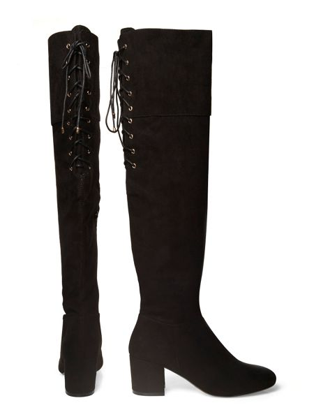 Dorothy Perkins Kippy Lace Back Boots