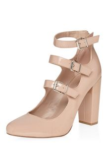 Dorothy Perkins Dandelion Buckle Court Shoes