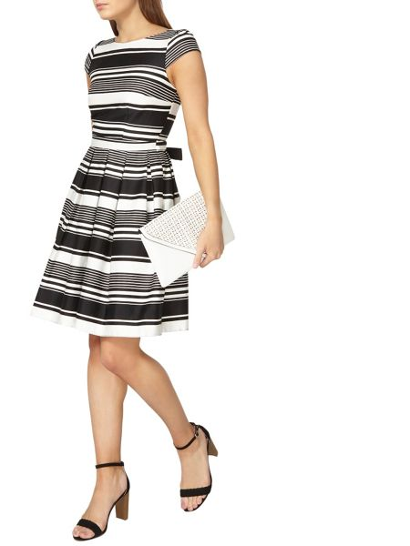 Dorothy Perkins Stripe Fit and Flare Dress