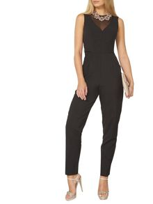 Dorothy Perkins Mesh Top Jumpsuit