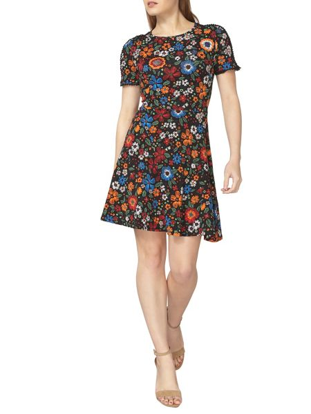 Dorothy Perkins Floral Lace Insert Dress