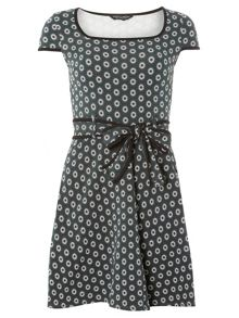 Dorothy Perkins Mini Floral Print Dress