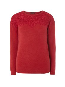Dorothy Perkins Lace Yoke Jumper