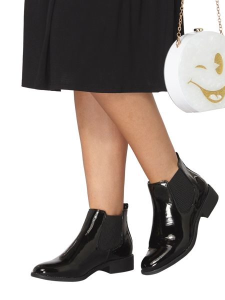 Dorothy Perkins Patent Mane Boots