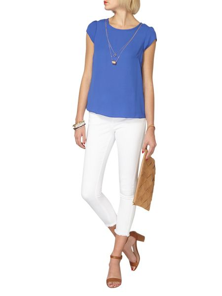 Dorothy Perkins Chain Neck Tee