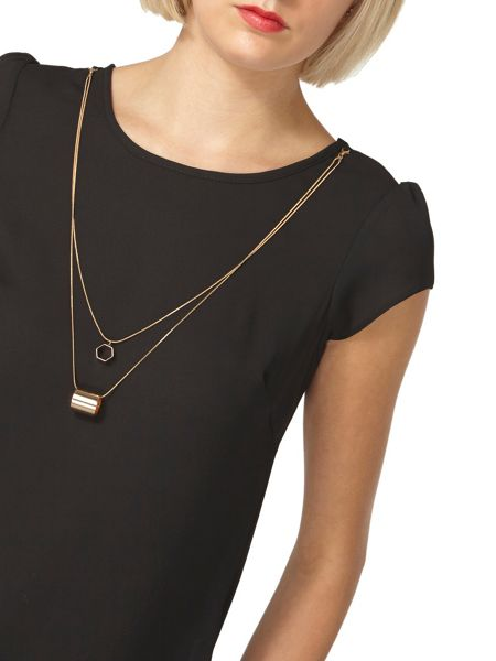 Dorothy Perkins Chain Neck T-Shirt