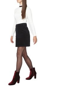 Dorothy Perkins Tall Cord Mini Skirt