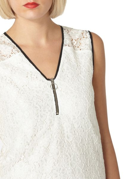 Dorothy Perkins Lace Shell Top