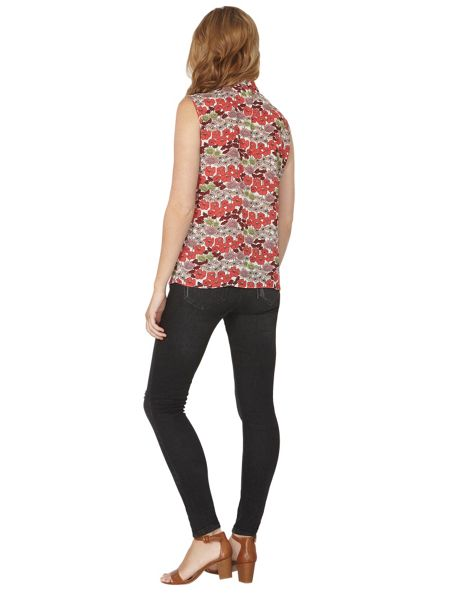 Dorothy Perkins Floral Dandy Pussybow Top