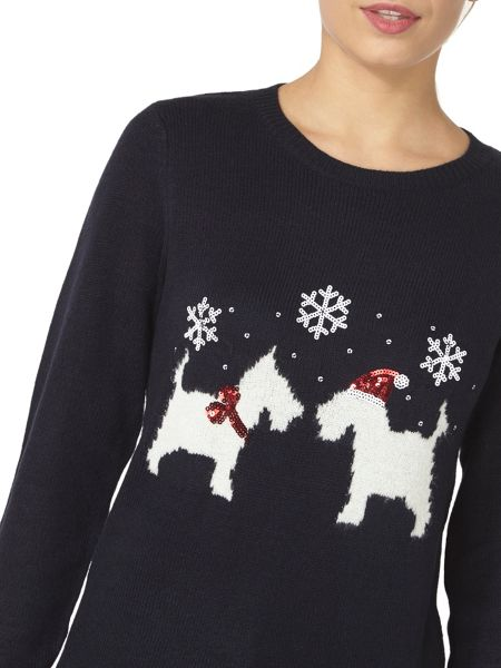 Dorothy Perkins Scotty Dog Jumper