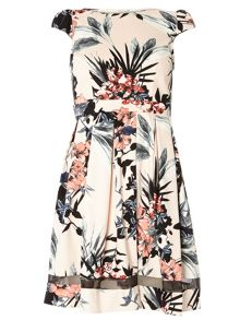 Dorothy Perkins Petite Tropical Dress