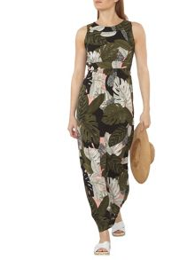 Dorothy Perkins Palm Print Maxi Dress
