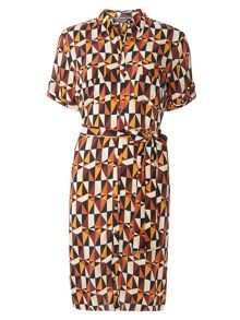 Dorothy Perkins Tall Triangle Shirt Dress