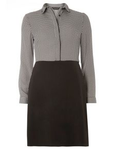 Dorothy Perkins Gingham 2in1 Shift Dress