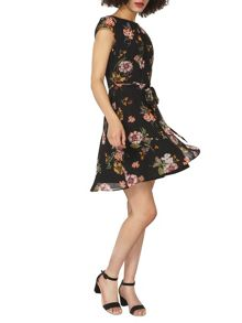 Dorothy Perkins Billie and Blossom Floral Belted Dress
