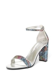 Dorothy Perkins Multi Carbon Glitter Sandals