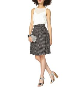 Dorothy Perkins Spot Cotton Full Skirt