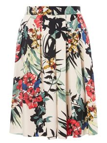 Dorothy Perkins Floral Cotton Full Skirt