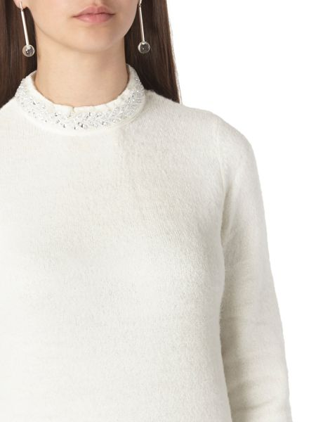Dorothy Perkins Tall Embellished Trim Jumper