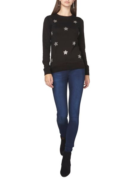 Dorothy Perkins Tall Star Embellished Jumper