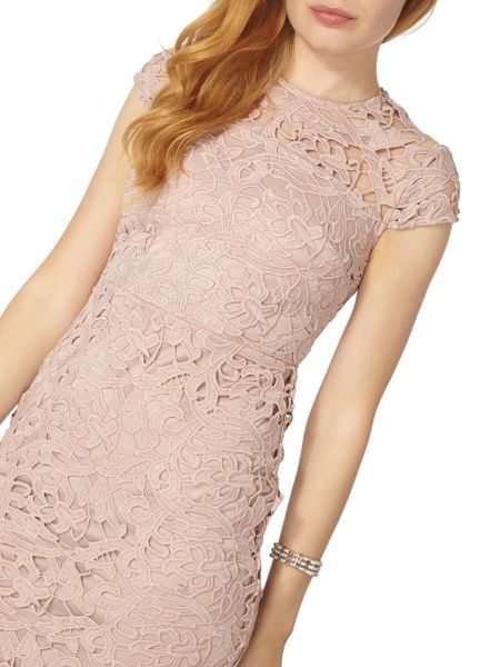 Dorothy Perkins Heavy Lace Pencil Dress