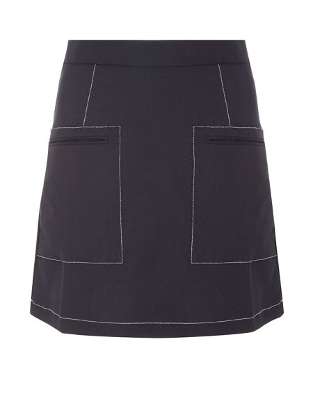Dorothy Perkins Piped A-Line Skirt
