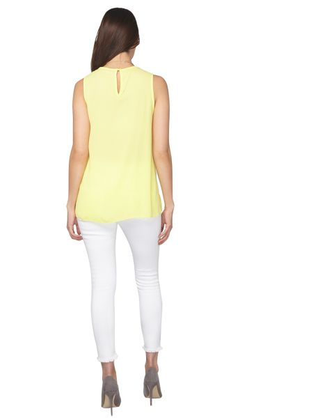 Dorothy Perkins Petite Built Up Top